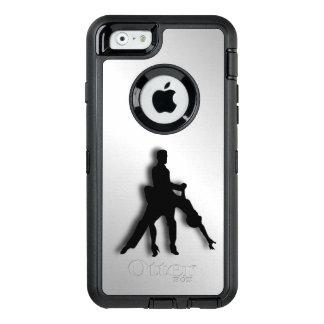 Tango Dancers Silhouette OtterBox Defender iPhone Case