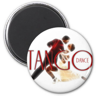 Tango Dances red Magnet