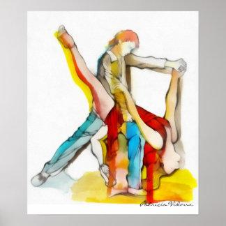 Tango Dancing Print