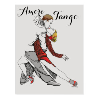 Tango de Amore Tarjeta Postal