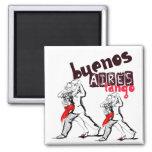 Tango de Buenos Aires Imán Cuadrado
