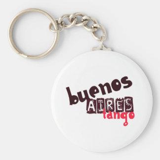 Tango de Buenos Aires Llavero Redondo Tipo Pin