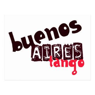Tango de Buenos Aires Postal