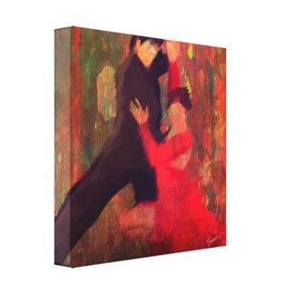 Tango de Fuego Lona Estirada Galerías