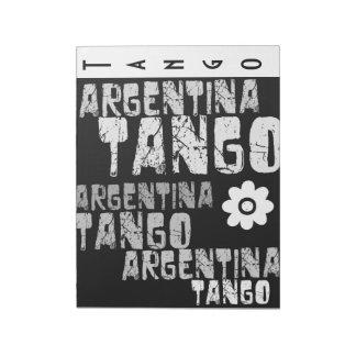 Tango de la Argentina Blocs De Papel