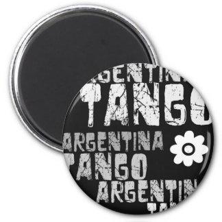 Tango de la Argentina Imán Redondo 5 Cm