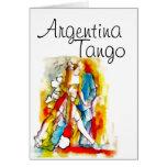 Tango de la Argentina Tarjetón