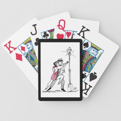 Tango de la calle barajas de cartas