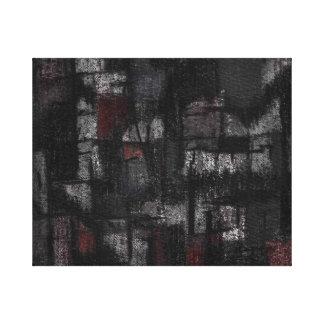 Tango de la lona de la envoltura en la lluvia lienzo envuelto para galerías