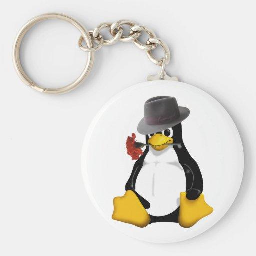 Tango de Linux Llaveros Personalizados