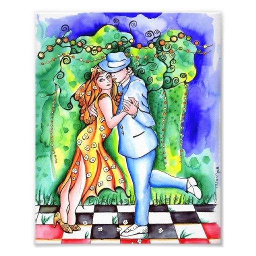 Tango de los amores de mis del club del EL Impresión Fotográfica