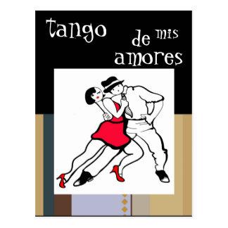 Tango de mis amores postcard
