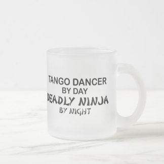 Tango Deadly Ninja by Night Frosted Glass Coffee Mug