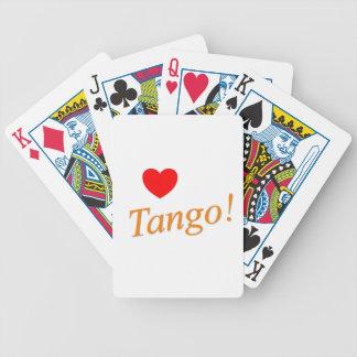 ¡Tango del amor! Baraja Cartas De Poker