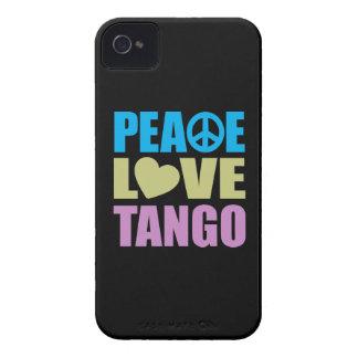 Tango del amor de la paz Case-Mate iPhone 4 cobertura