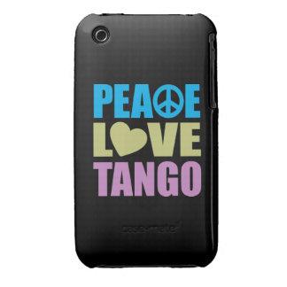 Tango del amor de la paz iPhone 3 Case-Mate funda