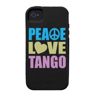 Tango del amor de la paz iPhone 4/4S fundas