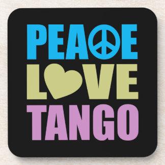 Tango del amor de la paz posavasos