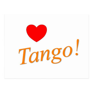 ¡Tango del amor! Tarjetas Postales