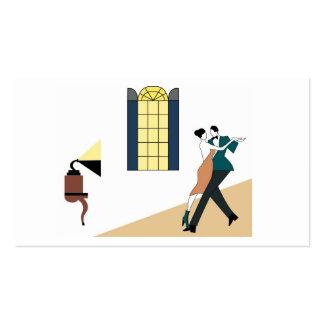 tango del baile de los pares tarjetas de visita