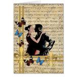 Tango del vintage tarjeta