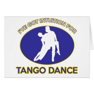 tango design cards