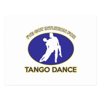 tango design postcards