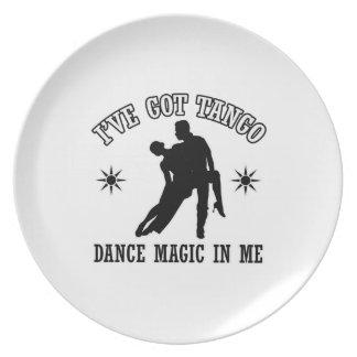 Tango Designs Dinner Plate