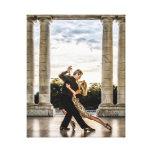 Tango en el parque impresion de lienzo