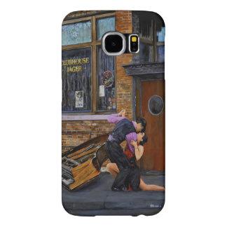 Tango en la calle que pinta la galaxia S6 de Fundas Samsung Galaxy S6