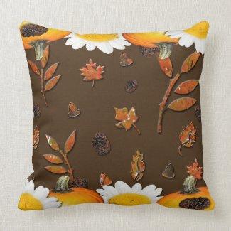 Tango Harvest Throw Pillow