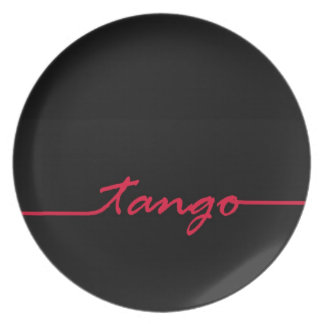Tango in Red Plate