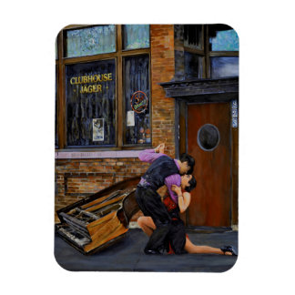 Tango in the Street by Steve Berger Photo Magnet