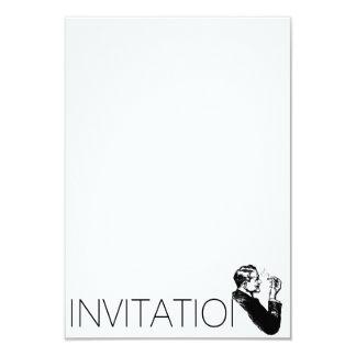 Tango Invitation 9 Cm X 13 Cm Invitation Card