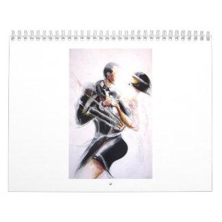 Tango-Jazz Calendario De Pared