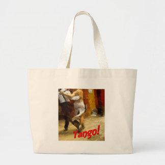 Tango! Large Tote Bag