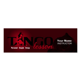 Tango Lesson - Business, Profile Card