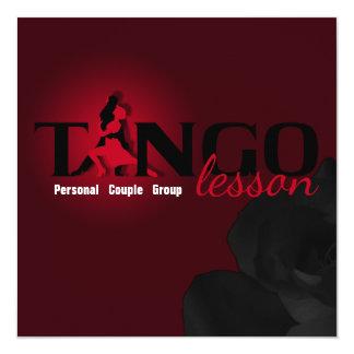 Tango Lesson - Card, Invite