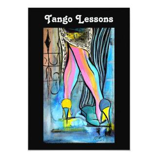 Tango Lessons Invitation