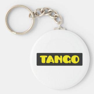 Tango Llavero Redondo Tipo Pin