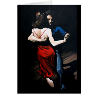 Tango Love Greeting Card