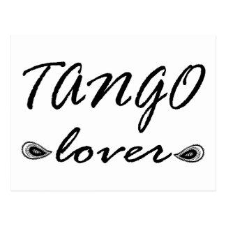 Tango Lover Exclusive Design! Postcard