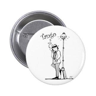 Tango Man Tanguerito Pinback Button