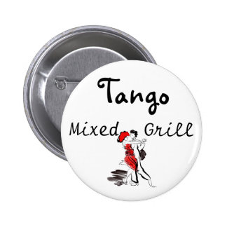 Tango Mixed Grill Pinback Button