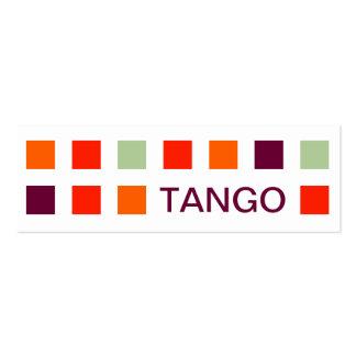 TANGO (mod squares) Mini Business Card