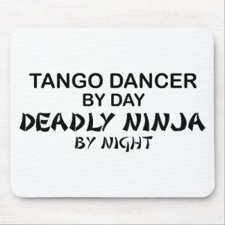 Tango Ninja mortal por noche Mousepad