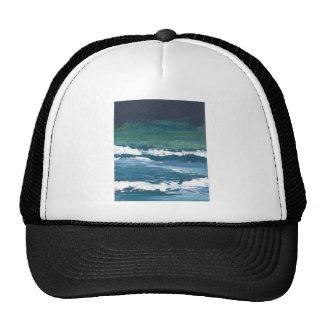 Tango of the Sea Ocean Waves Beach Decor Trucker Hat
