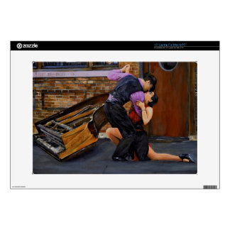 "Tango on the Street by Steve Berger 15"" Laptop Decal For Laptop"