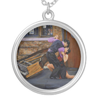 Tango on the Street by Steve Berger Necklace