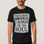 Tango para el alma (luz en oscuridad) playeras